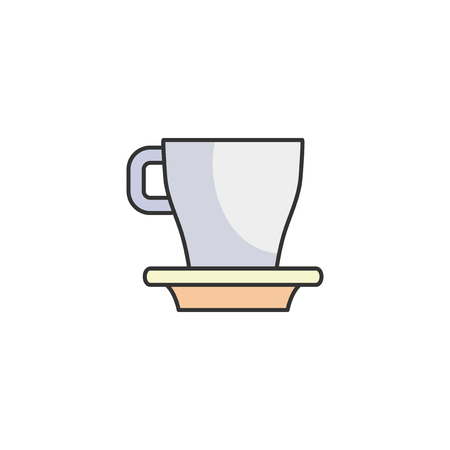 Illustration of coffe cup
