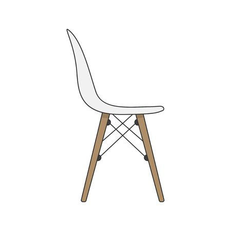 Illustration of a chair