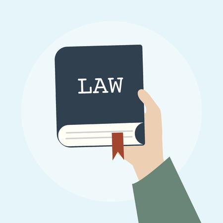 Illustrazione del concetto di legge Archivio Fotografico - 98665941