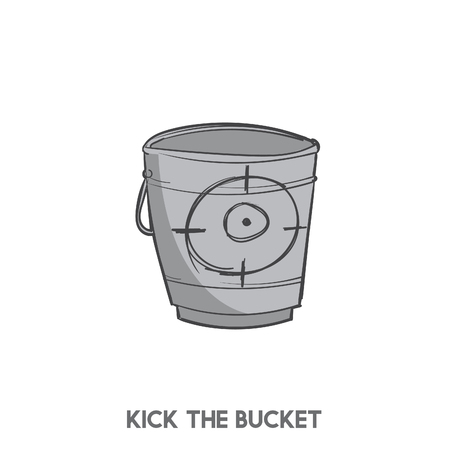 Kick the bucket Stok Fotoğraf