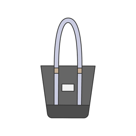 Illustration of a tote bag Stock fotó - 98708319