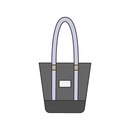 Illustration of a tote bag