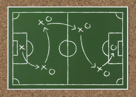 Basket ball strategy sketch icon Standard-Bild