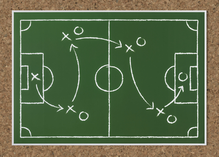 Basket ball strategy sketch icon Archivio Fotografico
