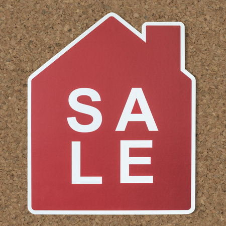 Home for sale icon symbol