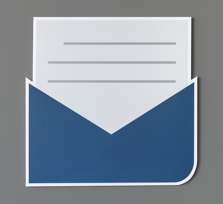 Open letter email alert icon