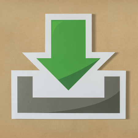Download computer technology icon symbol 写真素材