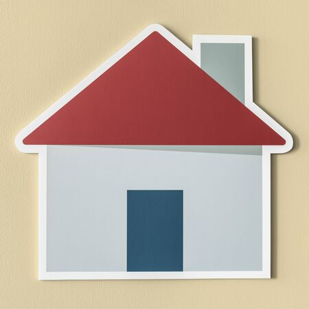 Home insurance safety icon