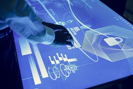 Futuristic business 写真素材