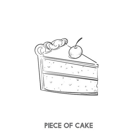 Un pedazo de pastel Foto de archivo - 100101399