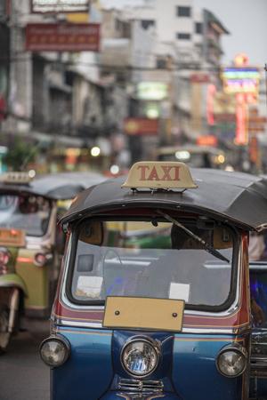 Tuk tuk in Bangkok Thailand