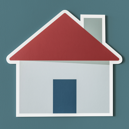 Home insurance safety icon Stock Photo - 100176004