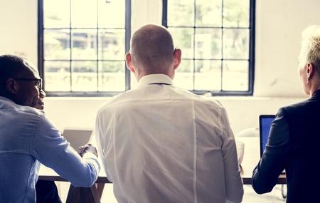 Business teamwork strategy success meeting Imagens