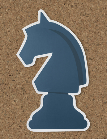 The knight chess strategy icon