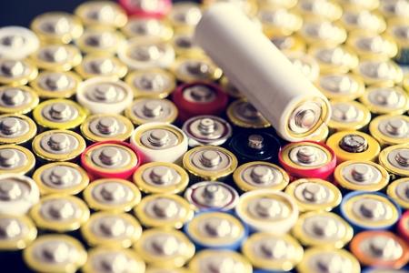 Alkaline battery energy supply storage