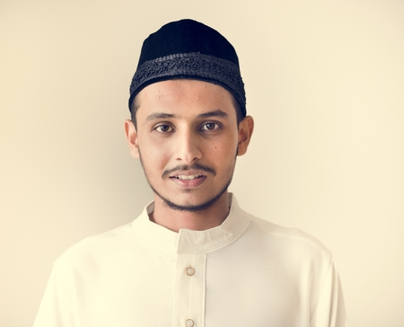 Portrait of a Muslim man Stock Photo - 102861042