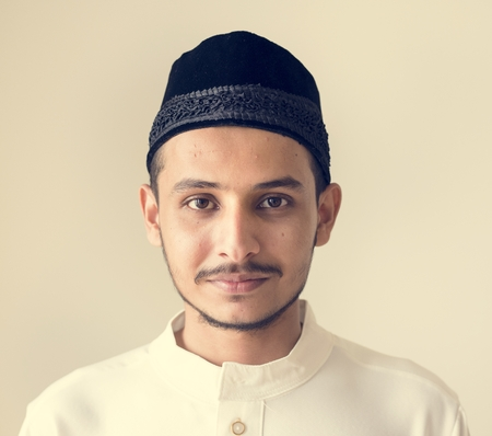 Portrait of a Muslim man Stock Photo - 102862639
