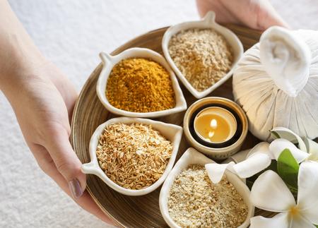 Massage herbs Stock fotó
