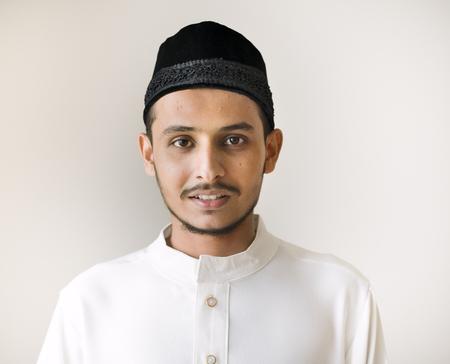 Portrait of a Muslim man Stock Photo - 102861150