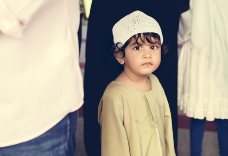 Muslim boy at the mosque Stock Photo - 102861151