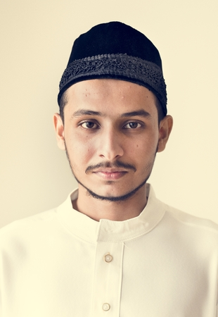 Portrait of a Muslim man Stock Photo - 102863526