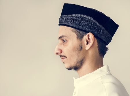 Portrait of a Muslim man Stock Photo - 102861499