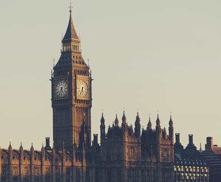 The Big Ben landmark of London