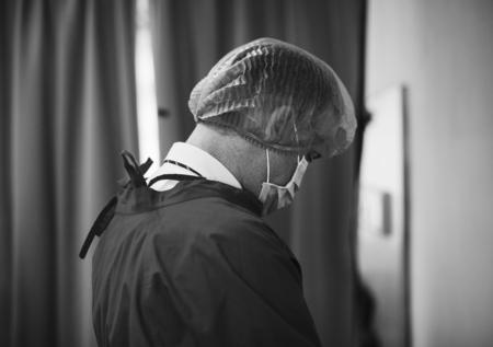 Doctor trabajando en el hospital