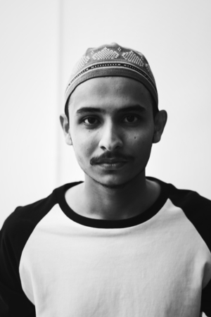 Portrait of a Muslim boy