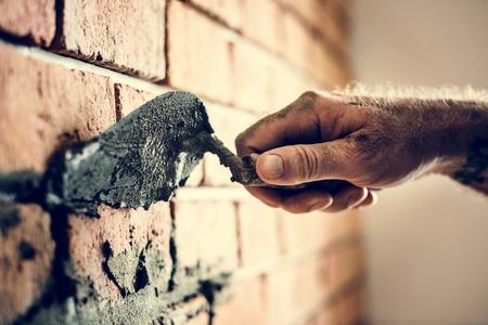 Plaster cement wall indoor construction Stock fotó - 103995038