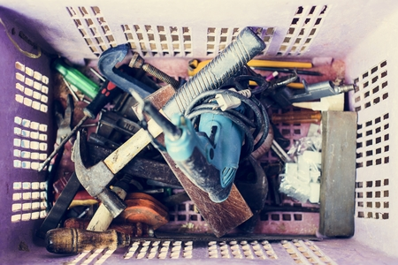 Construction tools Stock fotó