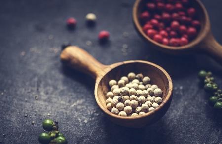 Closeup of asian spice cooking ingredients 版權商用圖片