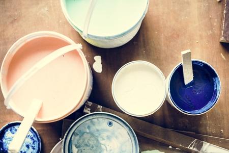室内インテリアリノベーション室内塗装