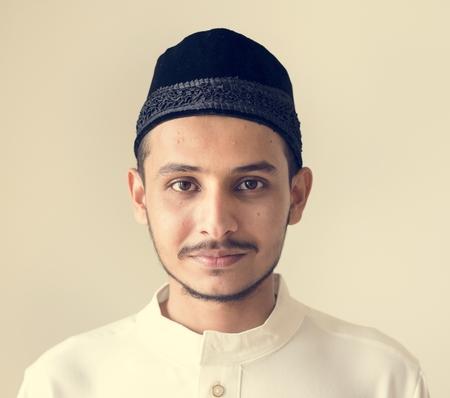 Portrait of a Muslim man Stock Photo - 104032548