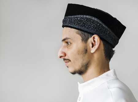 Portrait of a Muslim man Stock Photo - 104033498