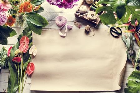 Flower blossom florist retail shop