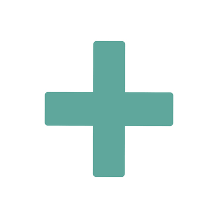 First Aid icon graphic illustration