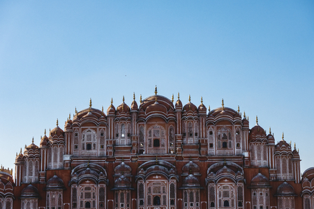 Hawa Mahal palace Jaipur, India 版權商用圖片