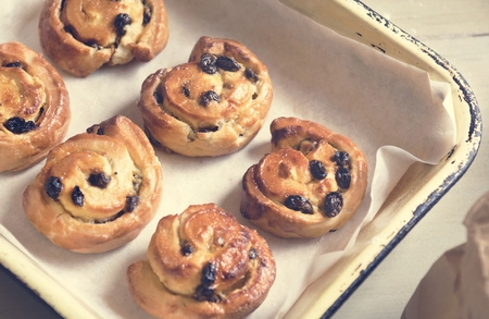 Homemade danish food photography recipe idea Banque d'images - 106362967