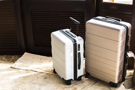 Luggage in a hotel room 스톡 콘텐츠 - 106367296