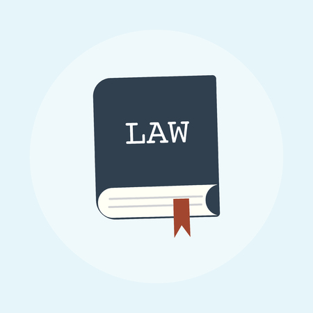 Illustration of law concept Stockfoto - 108585758
