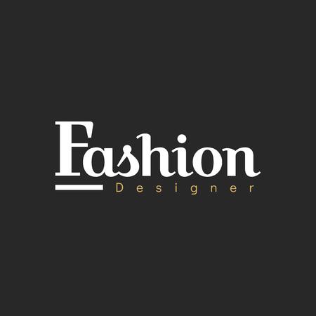 Illustration of boutique shop  stamp banner Stock Photo