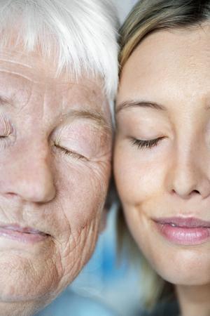 Family generation genetics concept Imagens - 109372548
