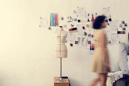People walking in office Stockfoto - 110571705