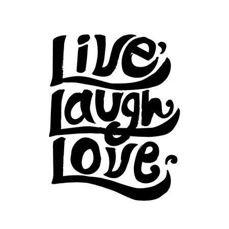 Vive ríe amor cita inspiradora
