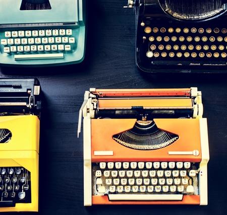 Typewriter machine manual grunge equipment