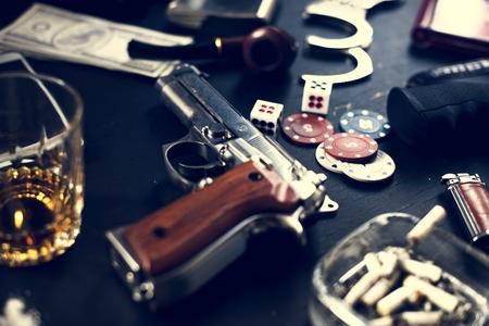 DivereAdults gambling shoot Stok Fotoğraf