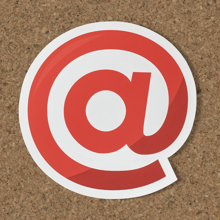 At online internet symbol icon Stock Photo