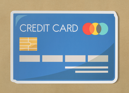 Credit card banking finance icon