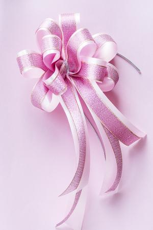 Closeup of decorative ribbon Banco de Imagens